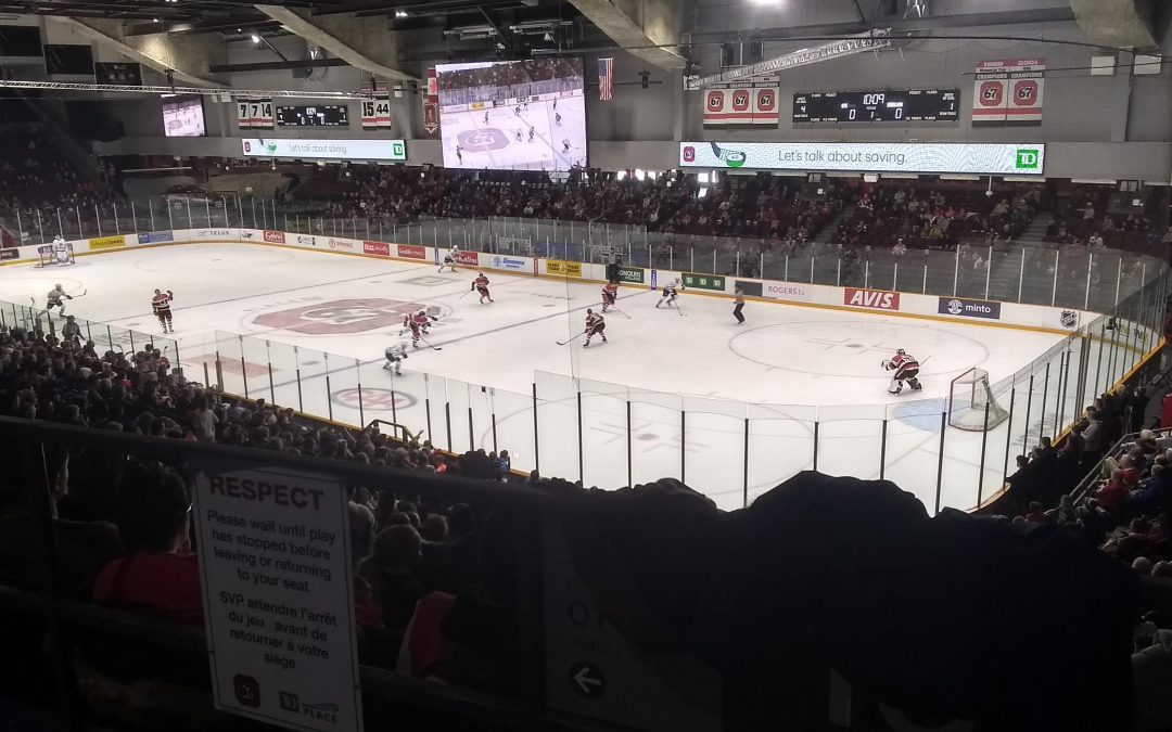TD Place Arena – Ottawa 67's
