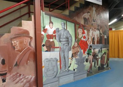 Kingston Memorial Centre - Historical Murals on Staircases