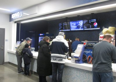 Concession Stand at Pegula Ice Arena