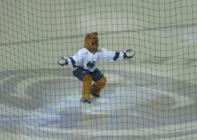 Nittany Lion Mascot Fires Up the Crowd