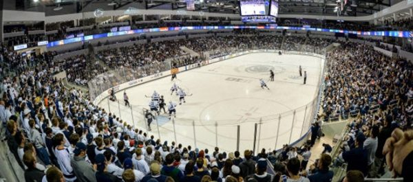 Pegula Ice Arena Game Action