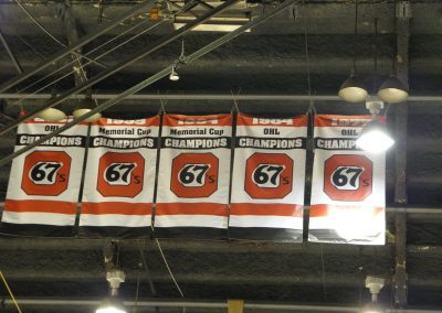 Banners Hang at TD Place Arena