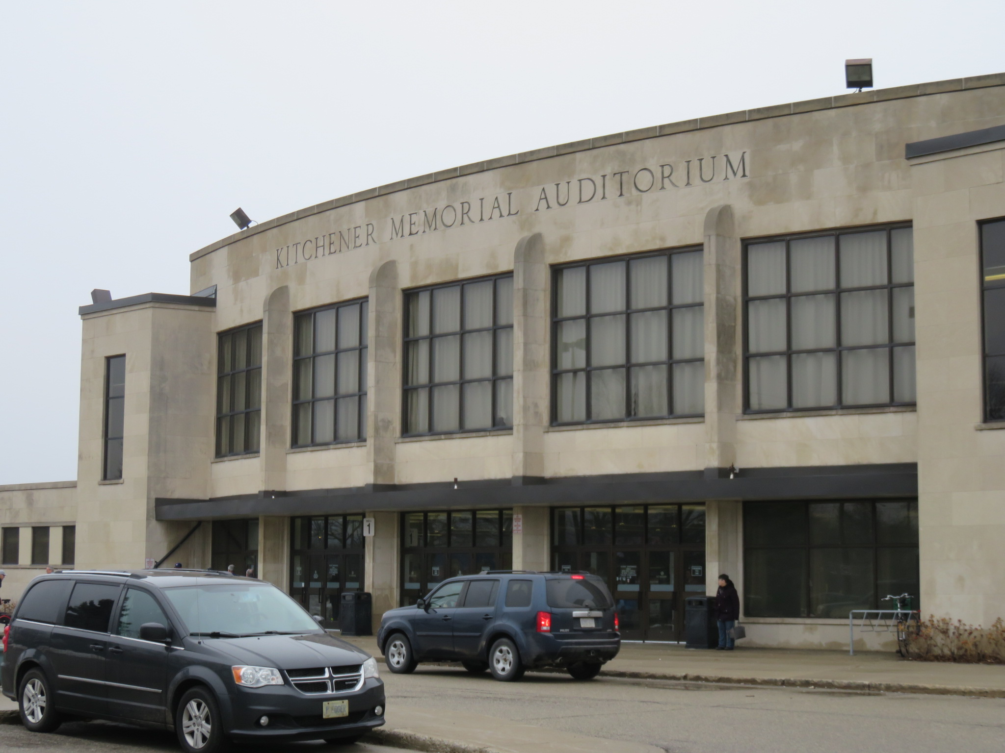 Dom Cardillo Arena At The Kitchener Memorial Auditorium