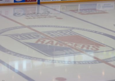 Kitchener Rangers Logo at Center Ice
