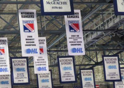 Banners Hang at the Aud