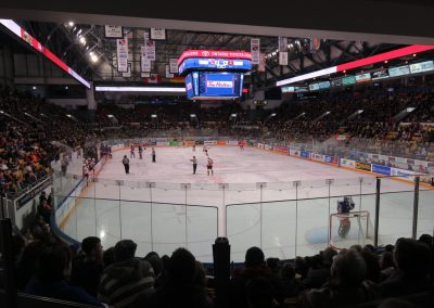 End View at the Kitchener Aud