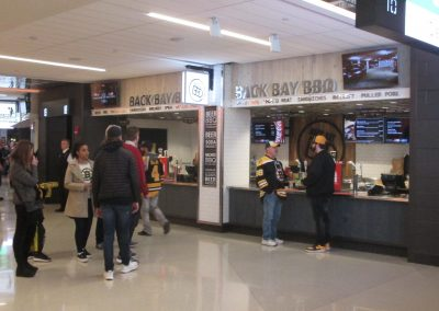 Back Bay BBQ Stand at TD Garden