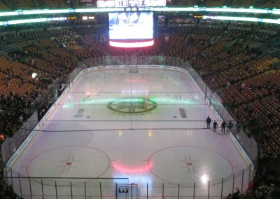 End Zone View at TD Garden