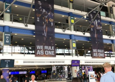 Qudos Bank Arena, Sydney Kings Banners