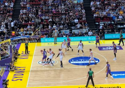 Qudos Bank Arena, Sydney Kings Game Action
