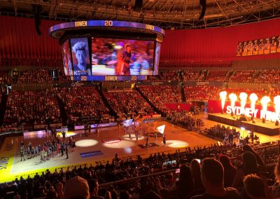 Qudos Bank Arena, Sydney Kings Player Intros