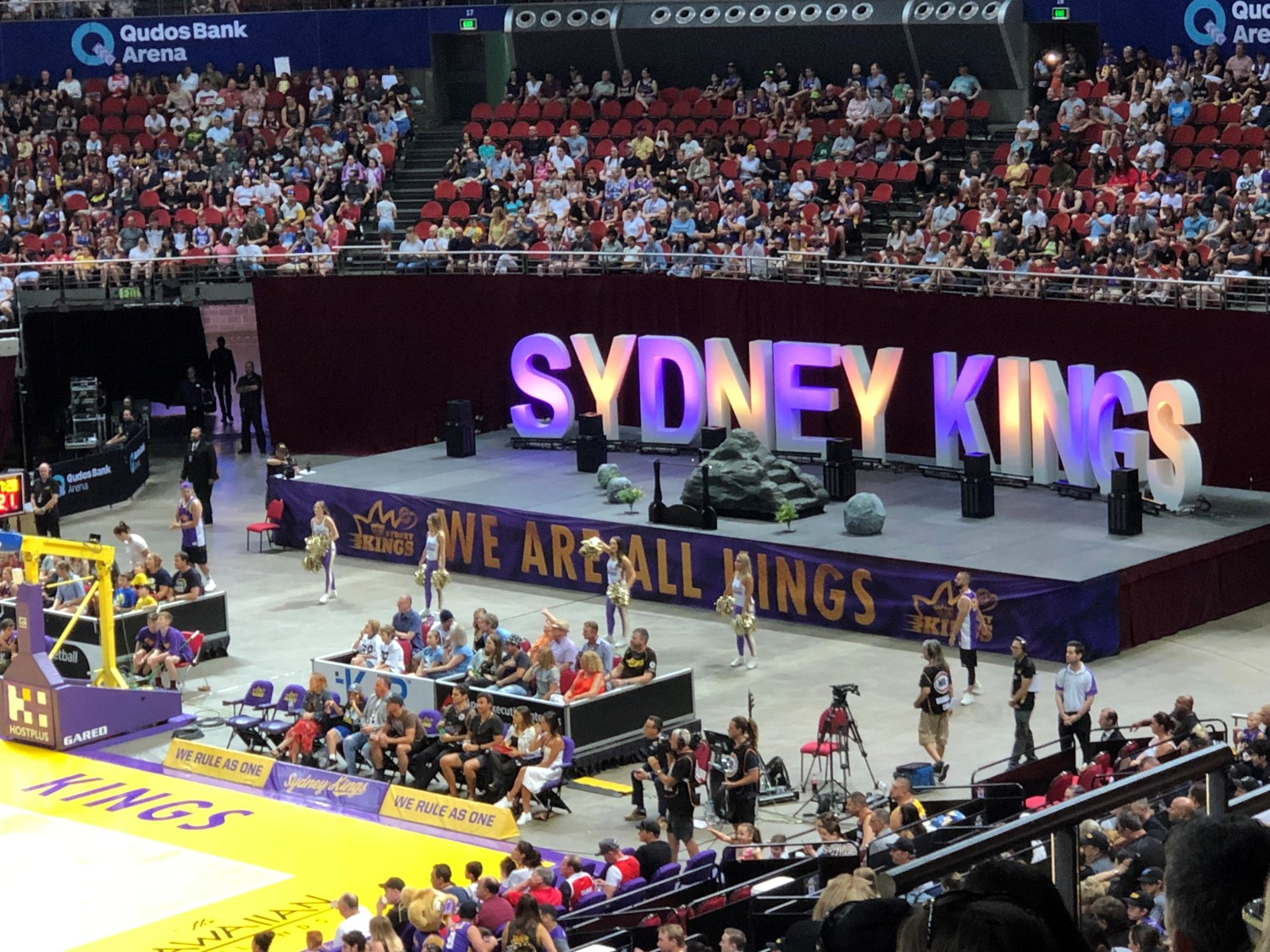 qudos bank arena sydney kings stadium journey. Black Bedroom Furniture Sets. Home Design Ideas