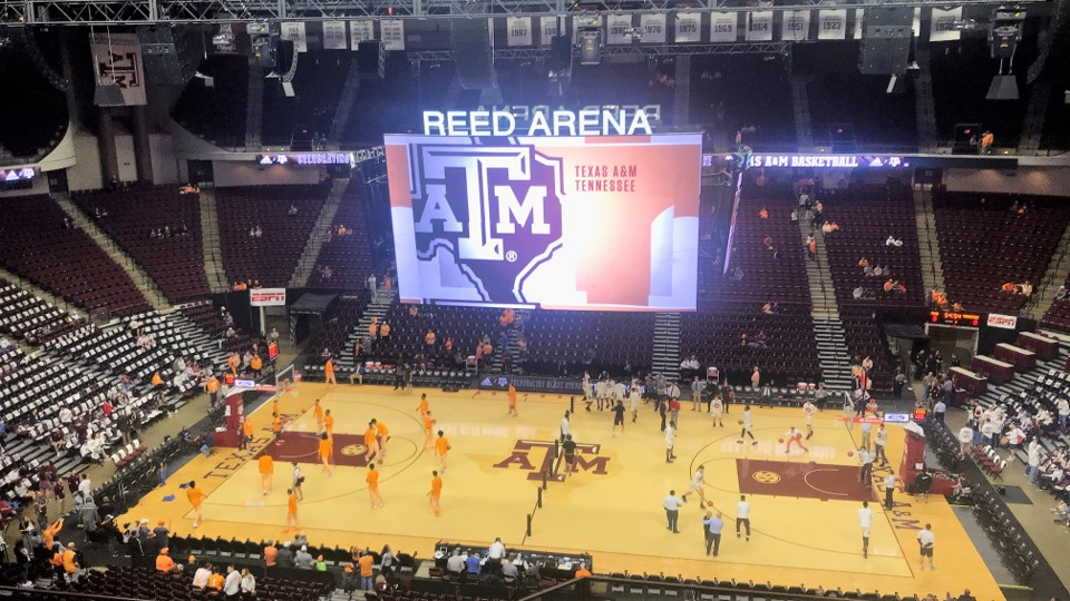 Reed Arena Texas A M Aggies Stadium Journey