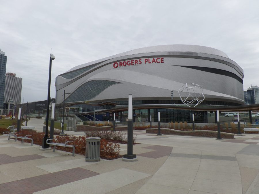 Rogers Place Exterior