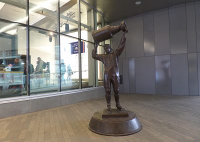 Gretzky Statue at Rogers Place