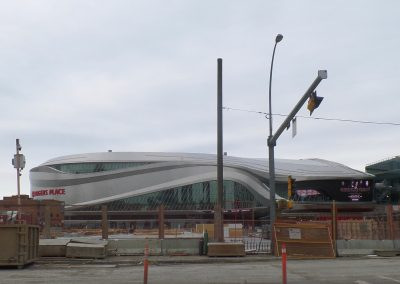 Approaching Rogers Place