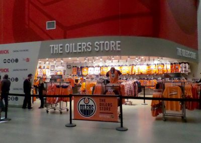 Oilers Team Store at Rogers Place