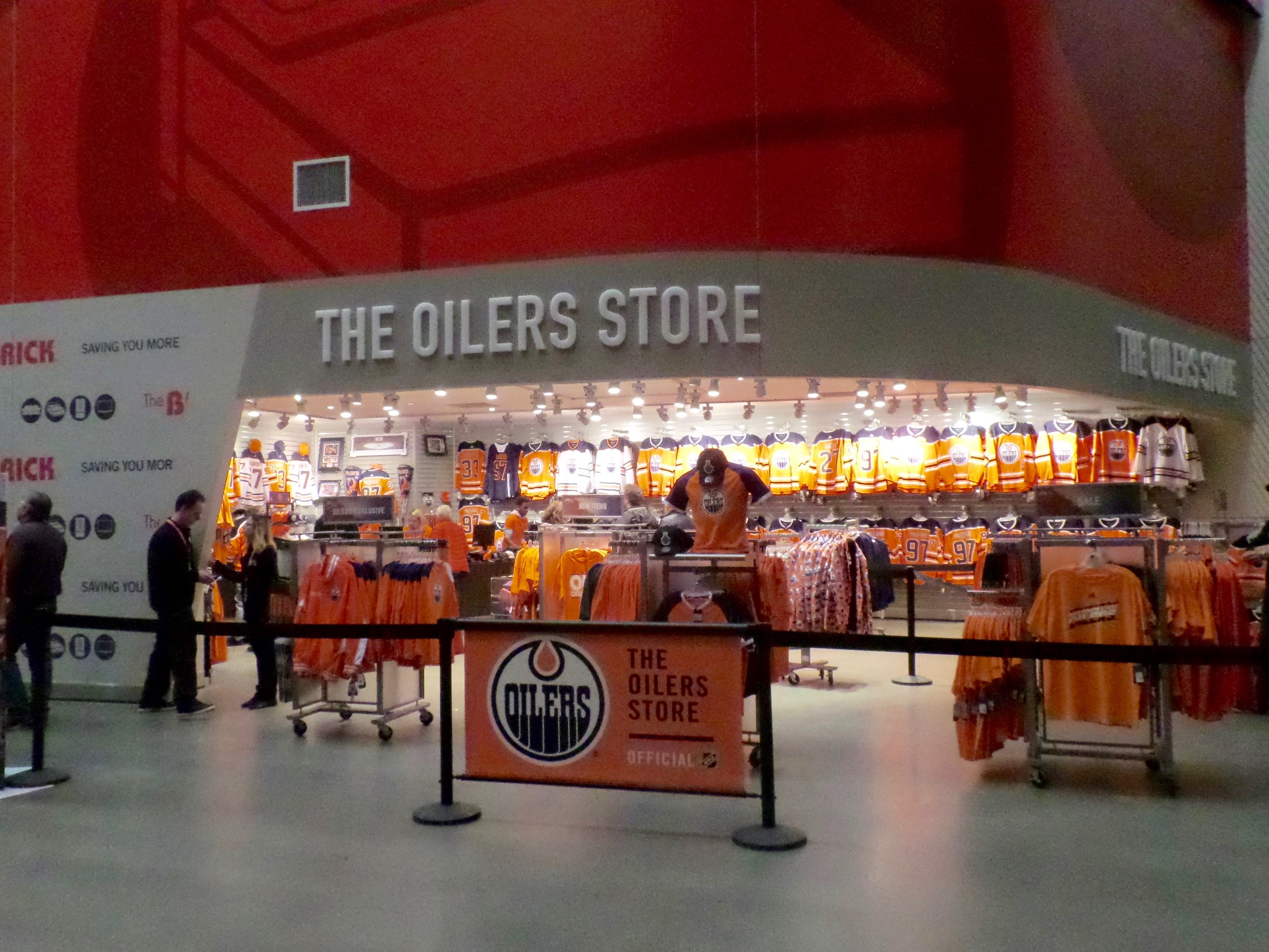 sports shoes a29f8 5327a Rogers Place – Edmonton Oilers | Stadium Journey