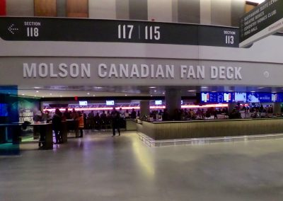 Fan Deck at Rogers Place