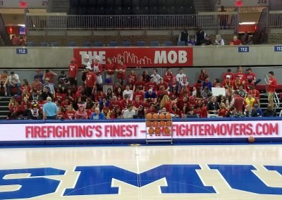 The Mob-Student Section at Moody Coliseum