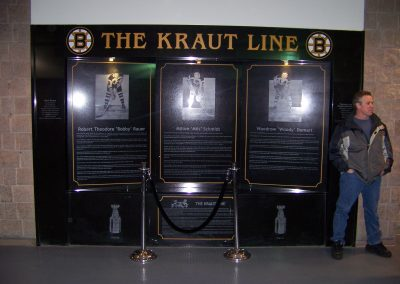 The Kraut Line Display