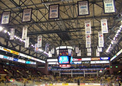 Banners at the Aud