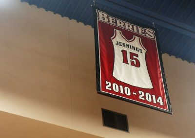 Berry Bowl Retired Jersey