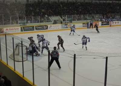 Peterborough Petes Game Action