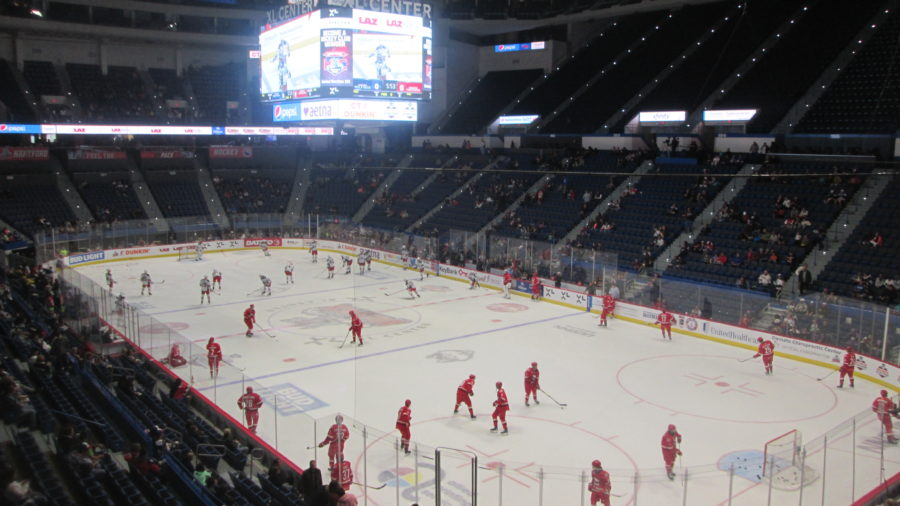 Xl Center Hartford Wolf Pack Stadium Journey
