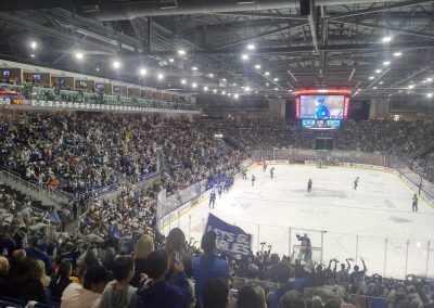 Game Action at Ricoh Coliseum