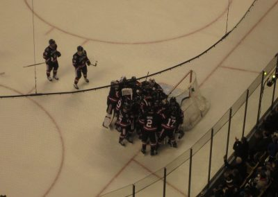 Northeastern Celebrates a Beanpot Victory