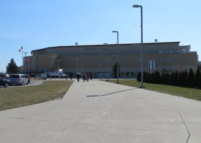 Approaching WFCU Centre