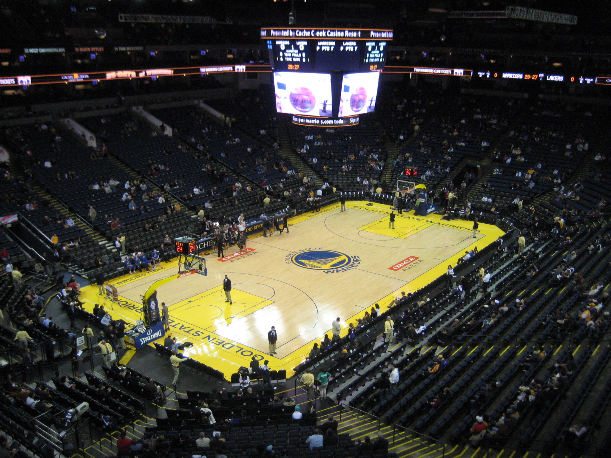Oracle Arena Food And Drink