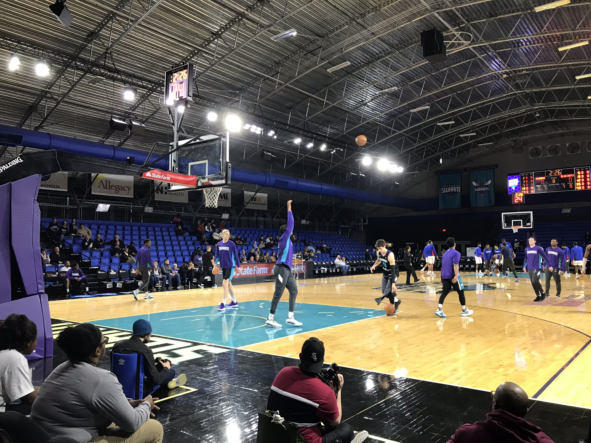 Fieldhouse At The Greensboro Coliseum Complex Greensboro Swarm Stadium Journey
