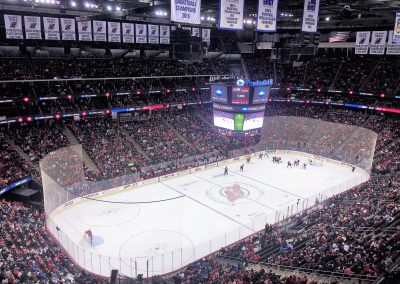 Upper Deck View at Prudential Center