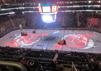 Pregame Ice at Prudential Center