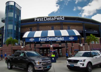 First Data Field Entrance