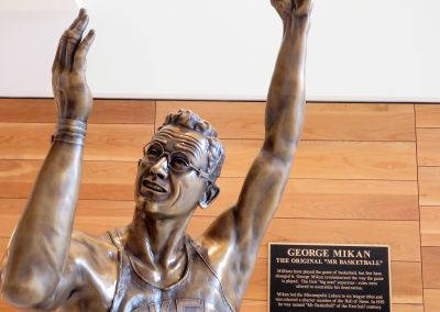 George Mikan of the Minneapolis Lakers