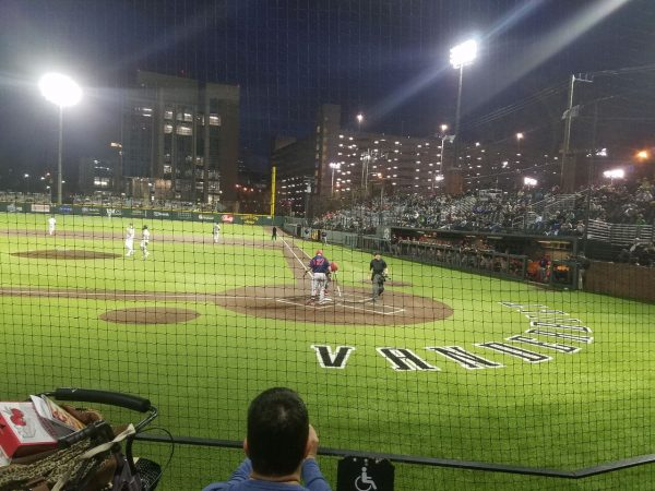 Hawkins Field at Night