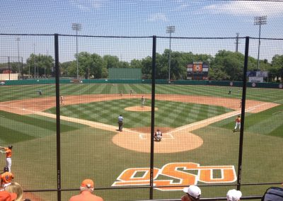Allie P. Reynolds Stadium, View from Home Plate
