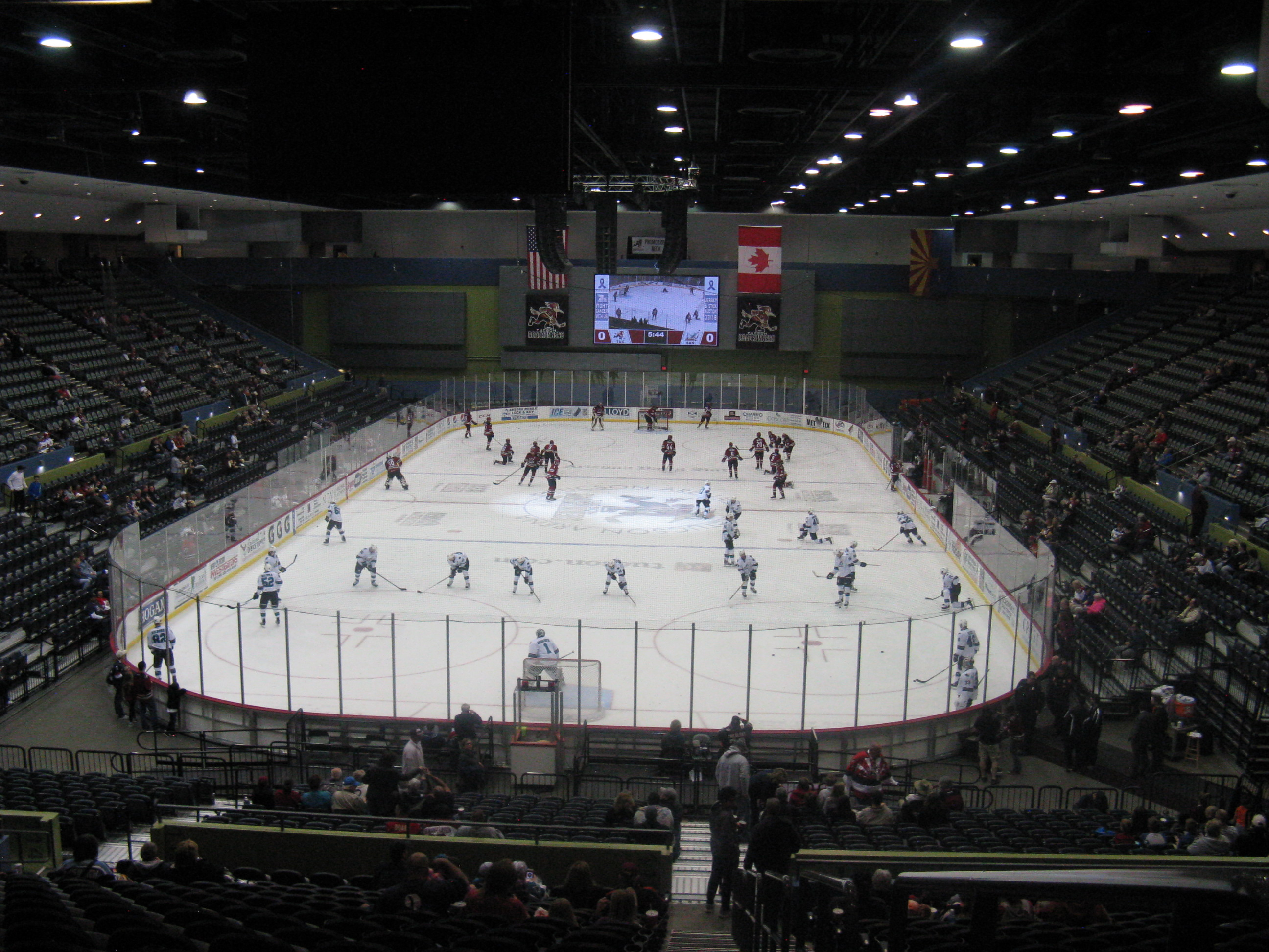Tucson Arena Home Of The Roadrunners