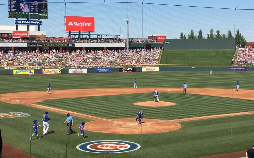 Sloan Park – Chicago Cubs Spring Training