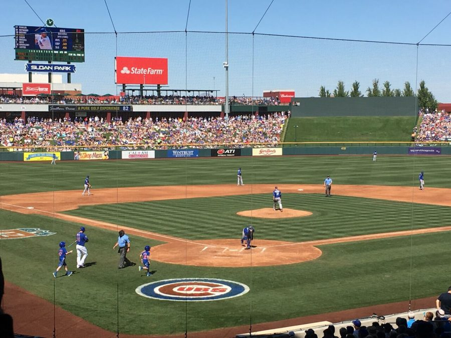 Sloan Park - Chicago Cubs Spring Training