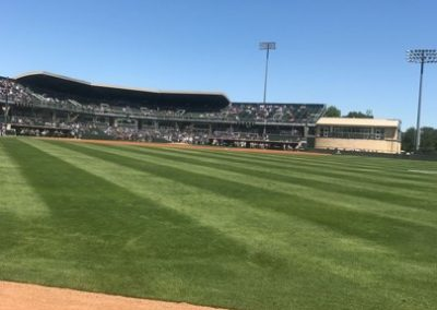 Lupton Stadium, View from Outfield
