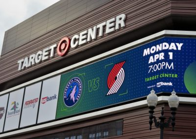Target Center Marquee