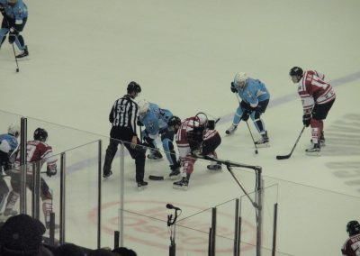 Wolves Faceoff at Allstate Arena