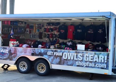 FAU Owls Team Store Trailer