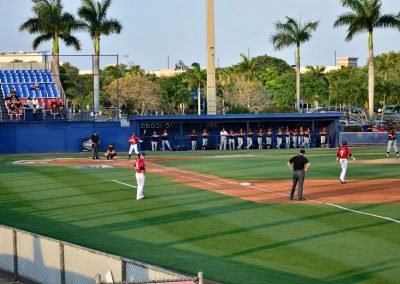 FAU Baseball Stadium - View from Right Field Berm