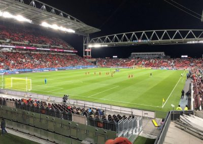 End Zone View at BMO Field