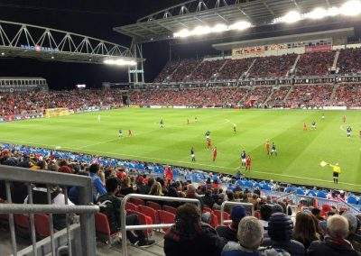 BMO Field Interior
